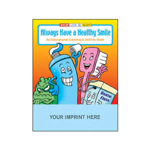Health & Medical Custom Coloring Books and Activity Books