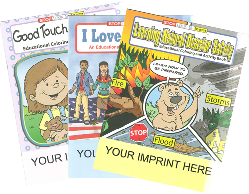 Custom Promotional Coloring Books